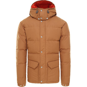 The North Face Sierra Kurtka puchowa Mężczyźni, cedar brown/papaya orange